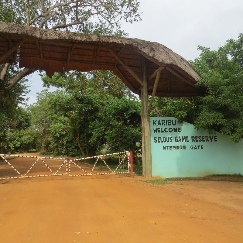 Mtemere Gate into Nyerere National Park former Selous Tanzania. Copyright Rupi Mangat (800x800)