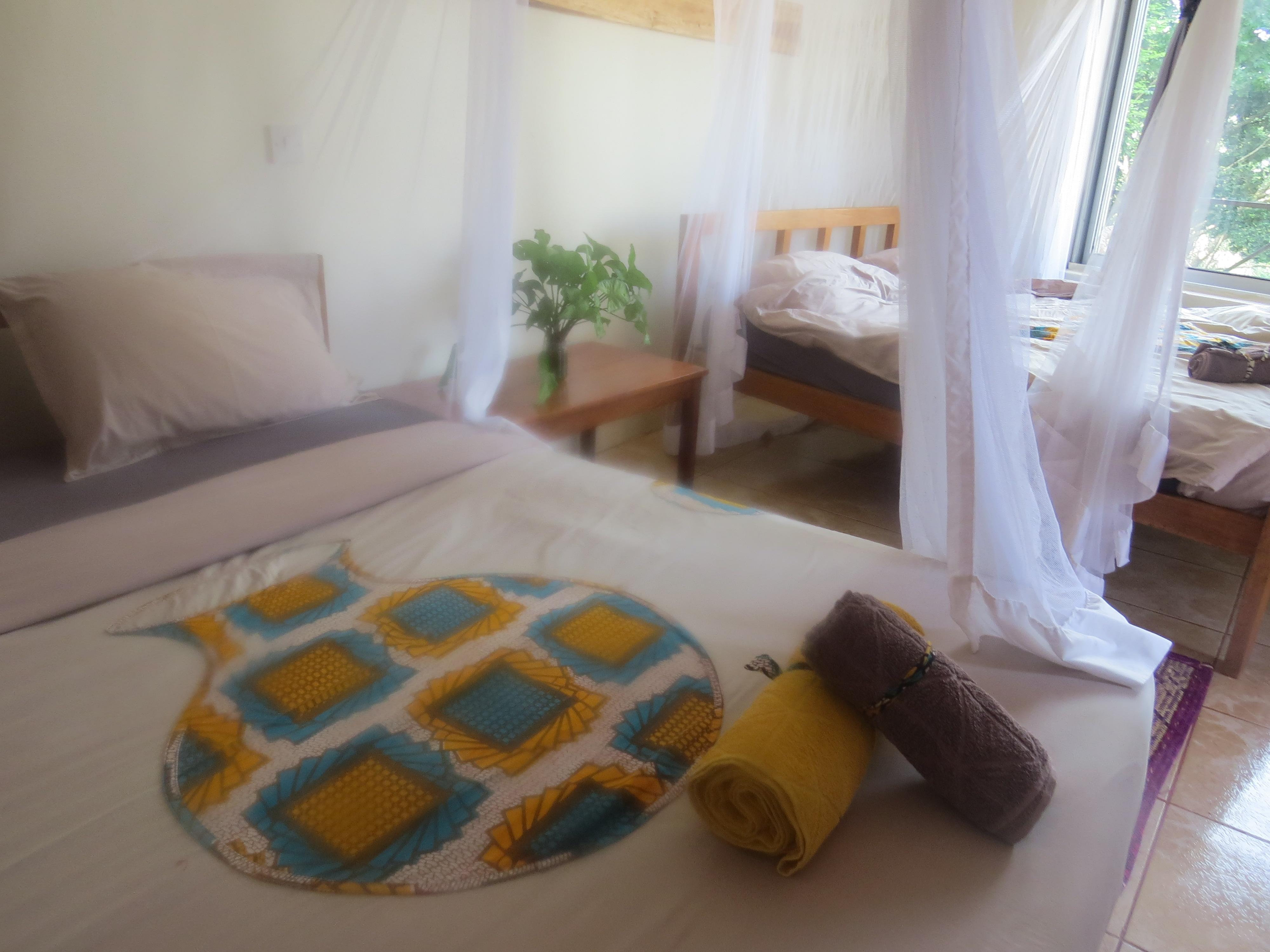 Acomodation at Via Via Entebbe. Copyright Rupi Mangat